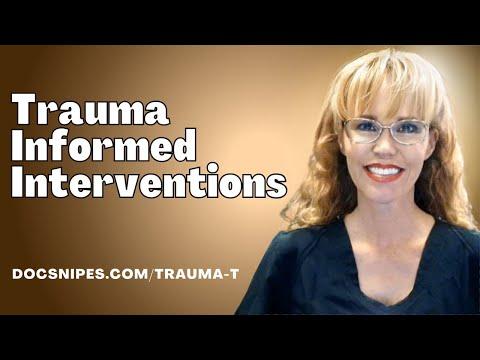 Trauma Informed Interventions   Trauma Informed Care - YouTube