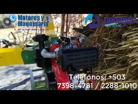 ENSILADORA PICADORA PE-800 DE FORRAJES AGRÍCOLAS