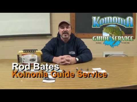 Rod Bates from Koinonia Guide Service's Favorite Pennsylvania Fishing Lures: Episode 138
