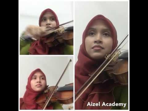 Amira Othman - Hati-hati ( violin cover )