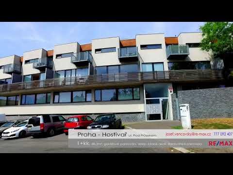 Video Prodej bytu 1+kk v osobním vlastnictví 58 m², Praha 10 - Hostivař
