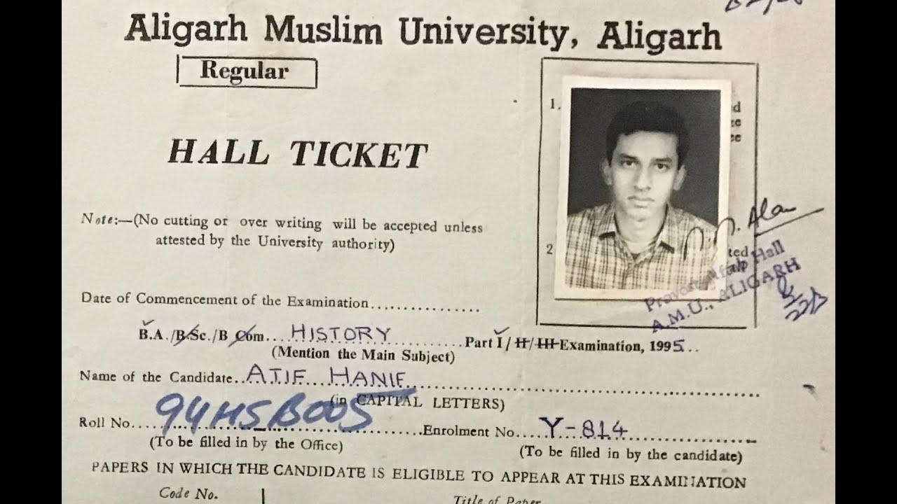 Hall Ticket I Student Life at AMU I Baatein Aligarh Ki (5))