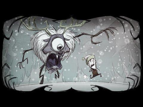 Don't Starve: Killing Deerclops with Teamwork