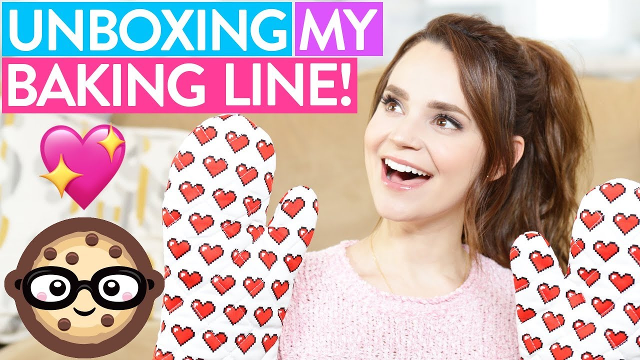 UNBOXING MY BAKING LINE! thumbnail