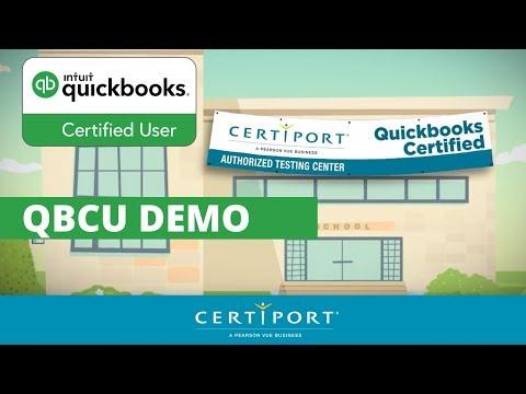QuickBooks Certified User Demo - YouTube