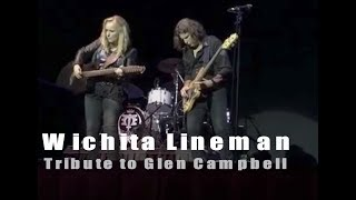 Wichita Lineman | Glen Campbell tribute by Melissa Etheridge | 8-8-2017