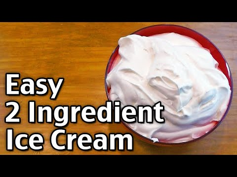 Video 2 Ingredient Ice Cream