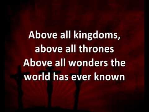 Above All [with lyrics] - Lenny LeBlanc