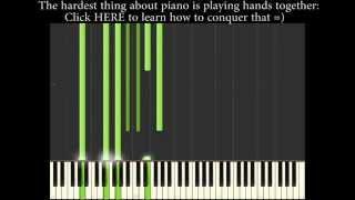 Somewhere Over The Rainbow Piano Tutorial Jazz [Midi File Available]