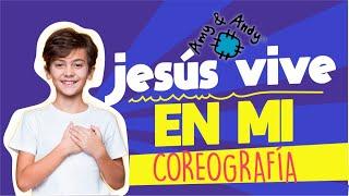 """Amy y Andy Coreografía de  la canción """"Jesús vive en mí"""". Videos Cristianos"""