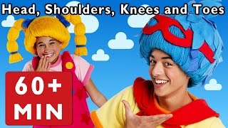 Head, Shoulders, Knees and Toes + More | Nursery Rhymes from Mother Goose Club