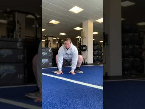 Sumo Squat w/ T-Spine Rotation
