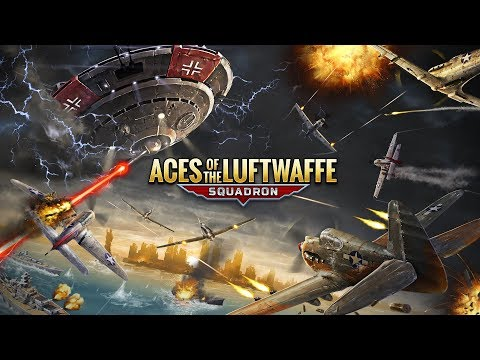 Aces of the Luftwaffe – Squadron - Official Trailer // Nintendo Switch thumbnail