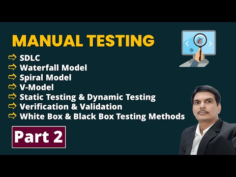 Manual Software Testing Training Part-2 | FREE YouTube Live ...