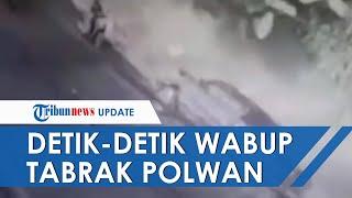 Video Detik-detik Wakil Bupati Yalimo Tabrak Polwan hingga Tewas, Mobil Melaju Zigzag Tanpa Kendali