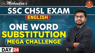 One Word Substitution | English | By Amit Mahendras | SSC CHSL | 3:15 pm