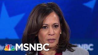 Senator Kamala Harris Attacks Tulsi Gabbard's Record | MSNBC