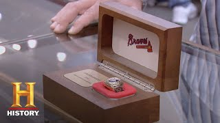 Pawn Stars: 1995 Atlanta Braves World Series Ring (Season 6) | History