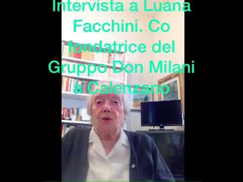 Preview video Luana racconta come è nata l'Associazione Gruppo don Lorenzo Milani di Calenzano