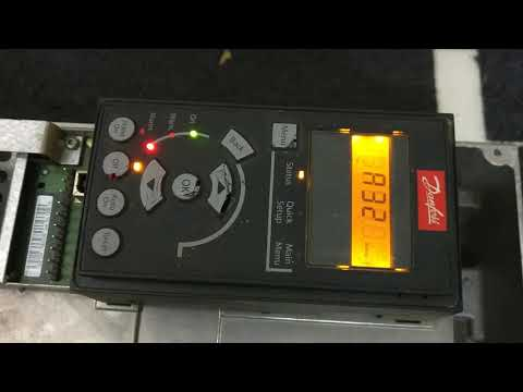 Danfoss Refurbished VFD AC Drive