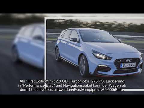 [Hyundai] Doppel-Premiere: Hyundai i30N und i30 Fastback ziehen die Blicke auf sich