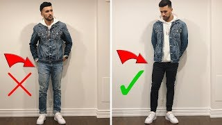 HOW TO STYLE: Mens Denim Jackets (Jean Jackets) | Outfit Ideas