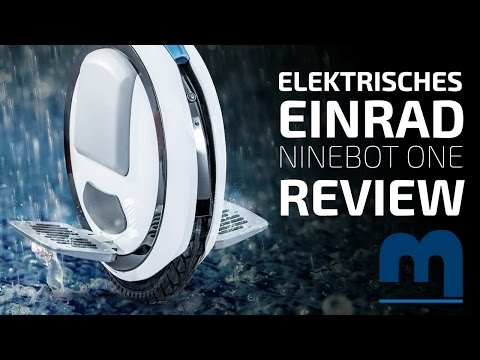 Driving an electric unicycle – Ninebot One E Review