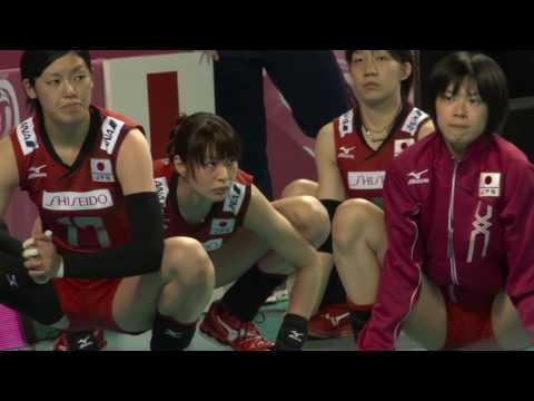 Haruka Miyashita, 宮下 遥, very nice stretching by female volleyball team Japan 01