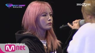 [Korean Reality Show UNPRETTY RAPSTAR2] Diss Battle Kasper vs Jeon Ji Yoon l Kpop Rap Audition EP.05