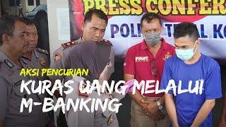 Seorang Teknisi di Tegal Kuras Tabungan Pelanggannya, Transfer Rp45 Juta dari M-Banking