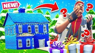 SANTA'S Presents HOUSE Challenge *NEW* Game Mode in Fortnite Battle Royale