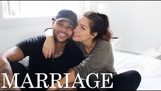 FIRST YEAR OF MARRIAGE | struggles, intimacy, faith, love & challenges