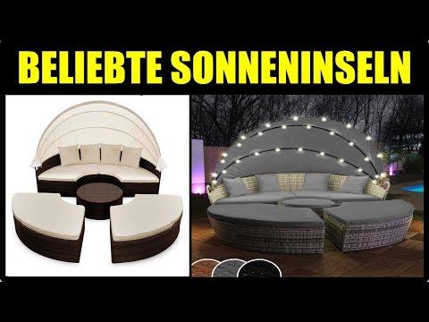 ► BESTE Strandkorb & Sonneninsel Modelle ★ Rattan Sonneninsel Test 2018 ★ Deuba Sonneninsel 2018