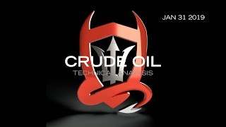 Crude Oil Technical Analysis (01.31.2019) : How Low Can it Go..?  [Date]