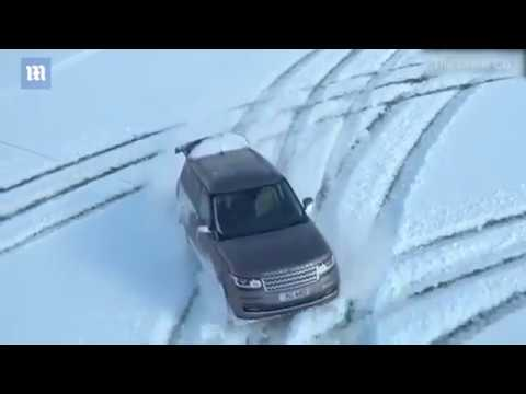Skier Towed Around Fields By 4X4 Range Rover In Kent