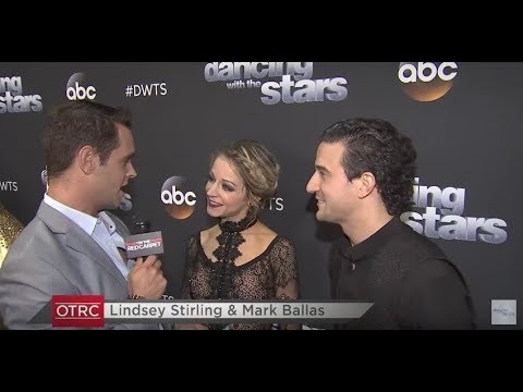On the Red Carpet at Dancing With The Stars – WEEK 9