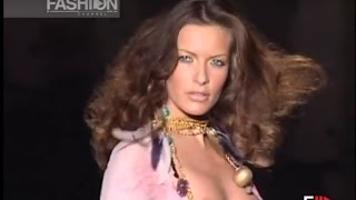 ROBERTO CAVALLI Full Show SS 2002 Milan by Fashion Channel