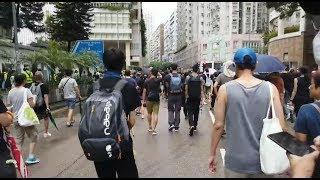 [8.17光復紅土遊行] 成功光復!! 只有香港人的馬頭圍!! 工聯會門外有菠蘿!!?