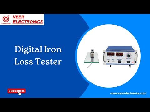 Digital Iron Loss Tester