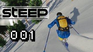 EXTREM, SCHNELL & WUNDERSCHÖN - Let's Play Steep Beta Gameplay #001 [Deutsch] [60FPS]