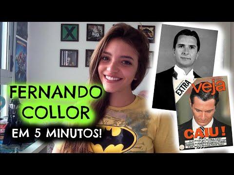 50 minutos em 5: FERNANDO COLLOR - Governo e Impeachment (Débora Aladim)