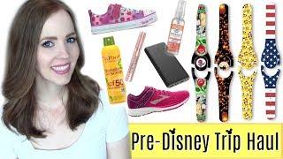 DISNEY PRE-TRIP HAUL! | Custom Magic Band Decals, Shoes, Makeup & More! | TRAVEL ESSENTIALS HAUL