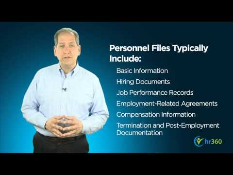 mp4 Managing Employee Personnel Files, download Managing Employee Personnel Files video klip Managing Employee Personnel Files
