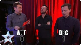 Preview: Who knows the most about Newcastle? Ant or Dec?| Britain's Got More Talent 2017