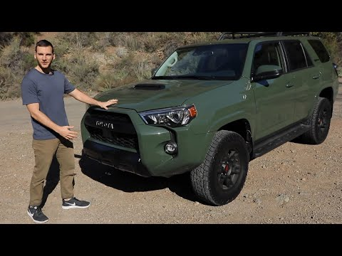 2020 Toyota 4Runner TRD Pro Test Drive Video Review