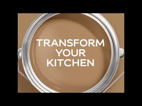 Dulux CoY 2019 - Spiced Honey - Transform your kitchen