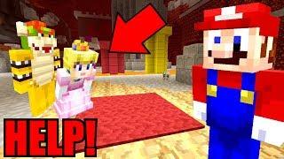 Minecraft | Super Mario Series | PEACH'S LOVE POTION WEARS OFF! *MARIO SAVES HER*! [296]