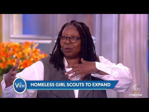 Girl Scouts Expanding For Homeless Girls In NYC | The View