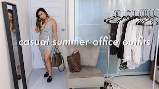 2019 CASUAL SUMMER OUTFIT IDEAS  & TIPS FOR THE OFFICE!