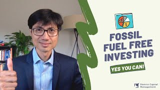 Fossil Fuel Free Investing
